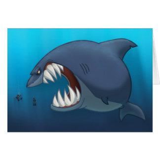 De grote Witte Kaart van de Haai (Spatie binnen)