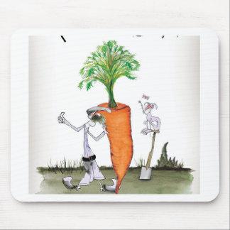 De grote wortelen van Yorkshire van de liefde Muismat