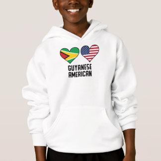 De Guinese Amerikaanse Vlaggen van het Hart