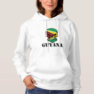 De Guinese Schedel Guyana van de Vlag Hoodie