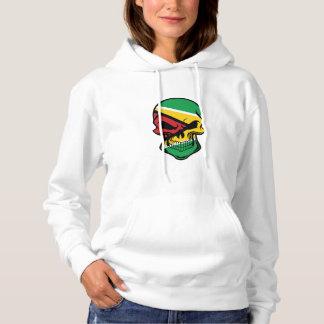 De Guinese Schedel van de Vlag Hoodie