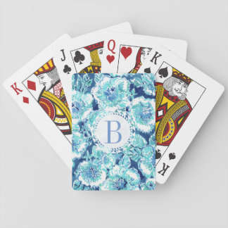 De GULLE GIFT Blauwe Tropische Hawaiiaan van de Pokerkaarten
