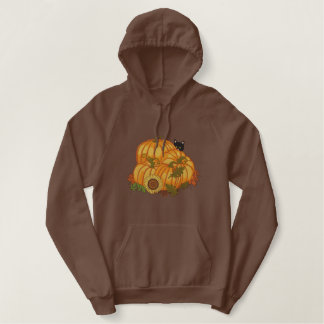 De Gulle gift van de herfst Geborduurde Sweater Hoodie