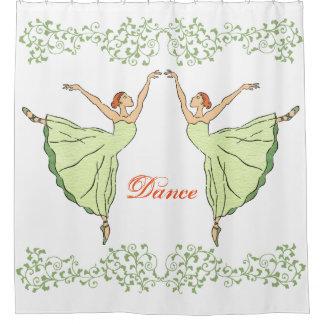 De Gunst van de ballerina Douchegordijn