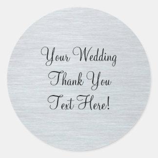 De Gunst van de zilveren bruiloft dankt u Sticker