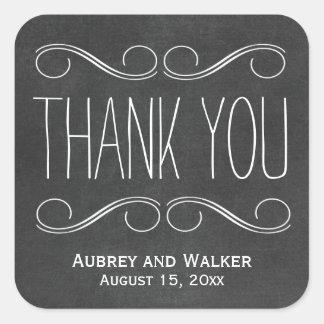 De Gunst van het huwelijk dankt u de Stickers van