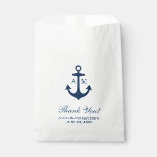 De Gunst van het huwelijk doet het ZeevaartThema Bedankzakje