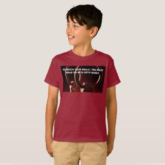 De gymnastiek belt het DwarsOverhemd Parkour van T Shirt