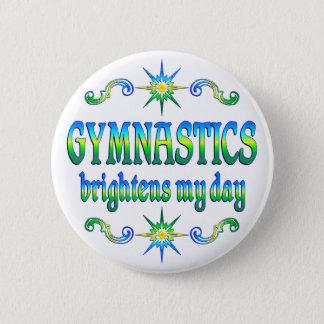 De gymnastiek heldert op ronde button 5,7 cm