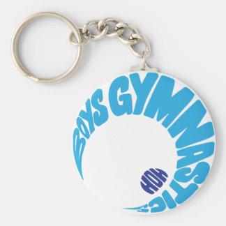 De Gymnastiek Keychain van jongens Sleutelhanger