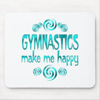 De gymnastiek maakt me Gelukkig Muismat