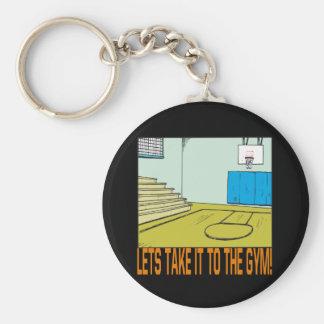 De gymnastiek sleutelhanger