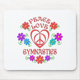 De Gymnastiek van de Liefde van de vrede Muismat