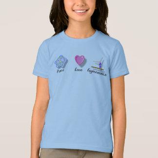De Gymnastiek van de Liefde van de vrede T Shirt