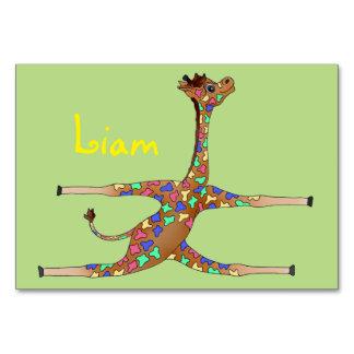 De Gymnastiek van de regenboog door Happy Juul Kaart