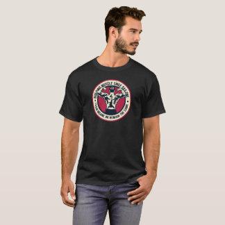 De Gymnastiek van de Spier van de bouw werkt uit T Shirt