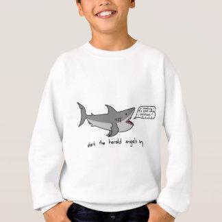 de haai kondigt engelen aan zingt trui