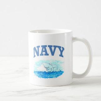De Haai van de marine Koffiemok