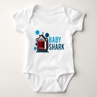 De Haai van het baby Romper