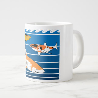 De Haaien van Koi Jumbo Beker