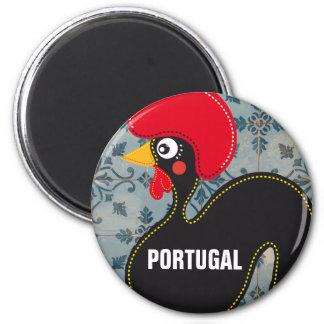 De haan van de Portugese Mozaïeken van Portugal en Magneet