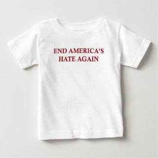 De Haat van Amerika van het eind opnieuw Baby T Shirts
