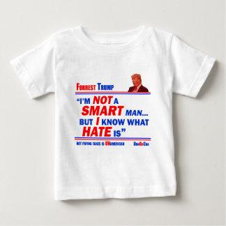 De HAAT van Forrest IS Baby T Shirts