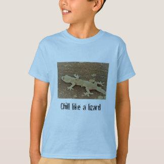 De hagedisoverhemd van het kind t shirt