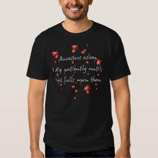 De Haiku's van de genealogie Shirts