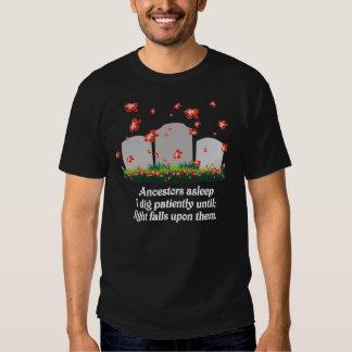 De Haiku's van de genealogie T-shirt