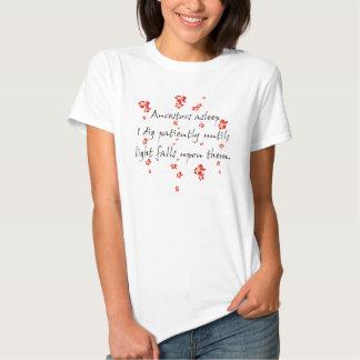 De Haiku's van de genealogie T-shirts