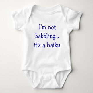 De Haiku's van het baby Romper