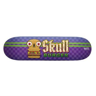 De Hamburger van de schedel 20,6 Cm Skateboard Deck