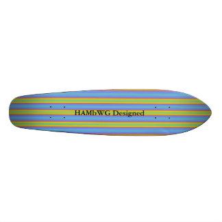 De HAMbyWG Ontworpen - Skateboard - Niveaus van