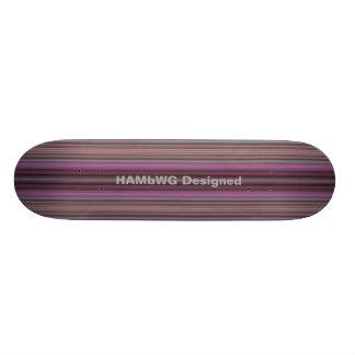 De HAMbyWG Ontworpen - Skateboard - Strepen van de