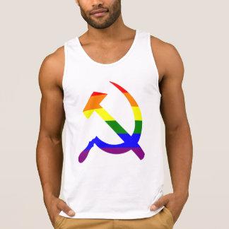 De Hamer en sikkel van de regenboog Hemd
