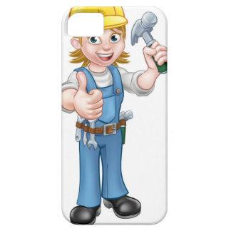 De Hamer van de Holding van de Timmerman van de Barely There iPhone 5 Hoesje