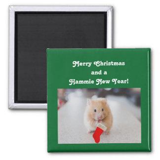 De Hamster van Kerstmis Magneet