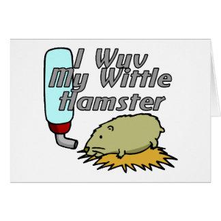 De Hamster van Wittle Briefkaarten 0