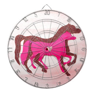 De hand ontwierp het Roze Dartboard van het Paard Dartborden