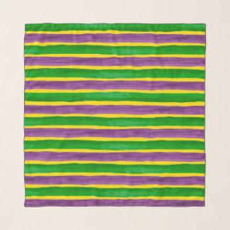 De Hand van Gras van Mardi schilderde Paarse Sjaal