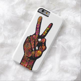 De Hand van het Teken van de vrede Barely There iPhone 6 Hoesje