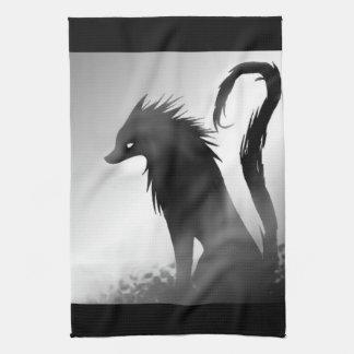 De Handdoek van Anime van de Wolf van de schaduw