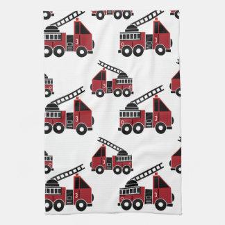De handdoek van de de vrachtwagenskeuken van de