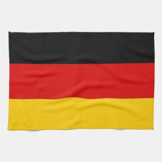 De handdoek van de keuken met Vlag van Duitsland