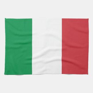 De handdoek van de keuken met Vlag van Italië
