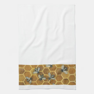 De Handdoek van de Keuken van de Bijen van de honi