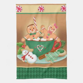 De Handdoek van de Keuken van de Cacao van de