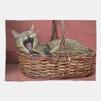 De Handdoek van de Keuken van de Kat van het Kat