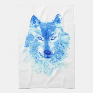 De Handdoek van de Keuken van de Wolf van de